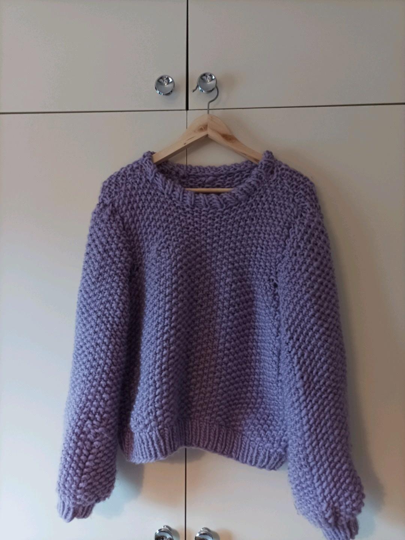 Damen pullover & strickjacken - HANDMADE/WOOL photo 1