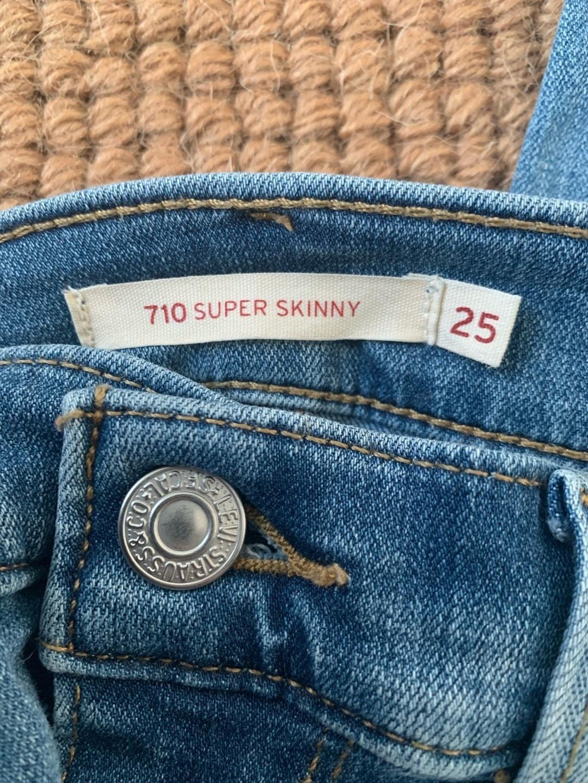 Women's trousers & jeans - LEVI'S 710 SUPER SKINNY photo 3