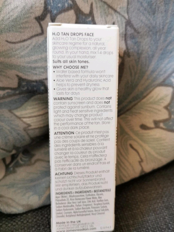 Women's cosmetics & beauty - JAMES READ photo 2