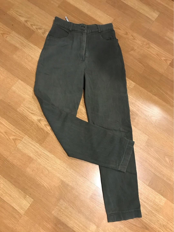 Women's trousers & jeans - METSÄNVIHREÄT HOUSUT photo 1