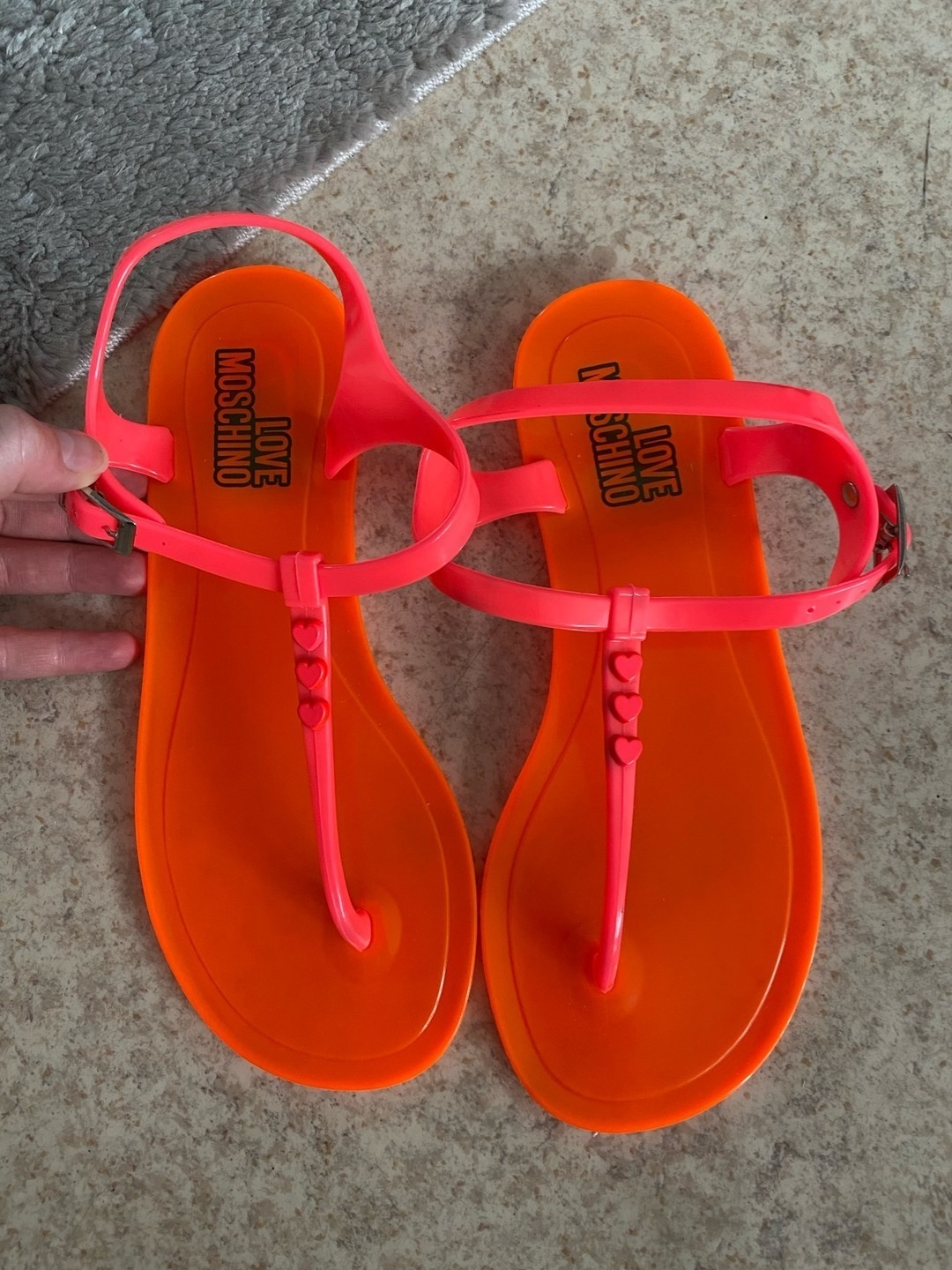 Women's sandals & slippers - LOVE MOSCHINO photo 1