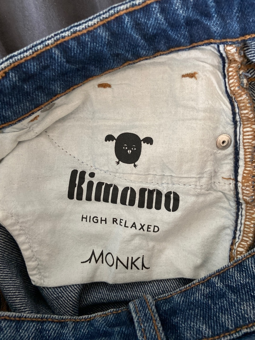 Damers bukser og jeans - MONKI photo 3