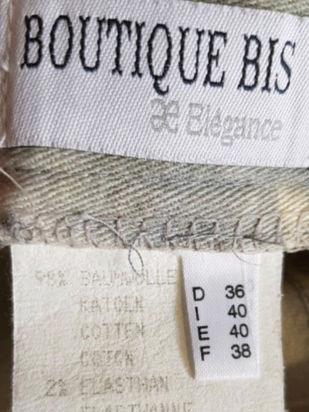 Damers bukser og jeans - ELEGANCE PARIS photo 3