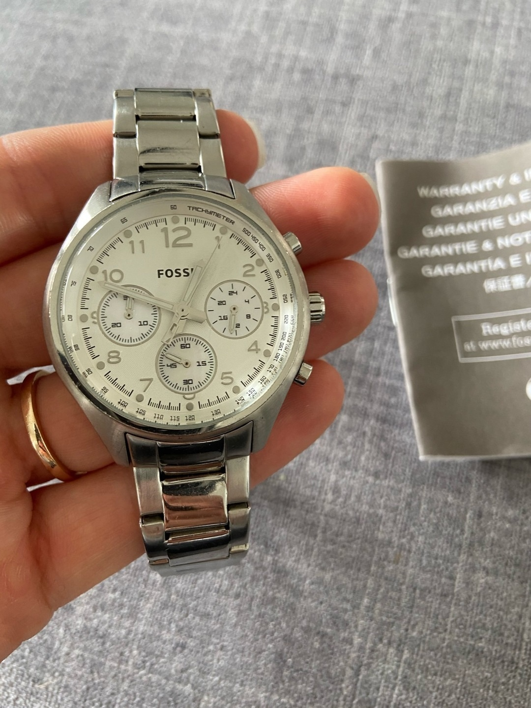 Women's watches - FOSSIL photo 1