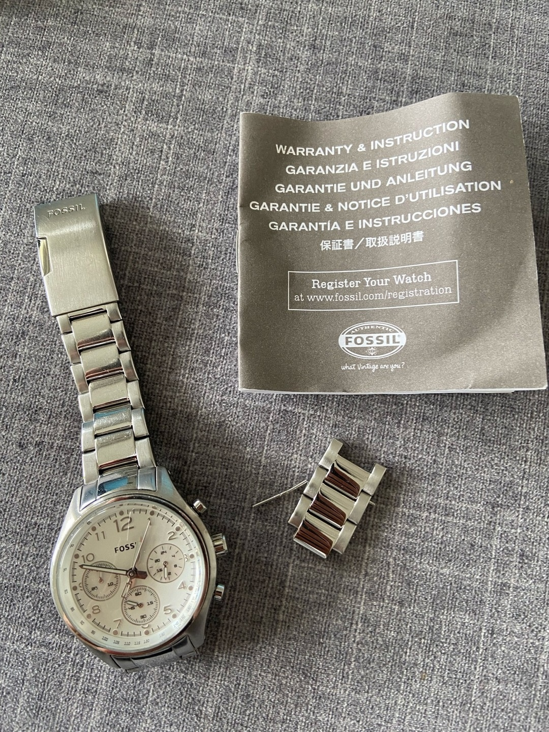 Women's watches - FOSSIL photo 4