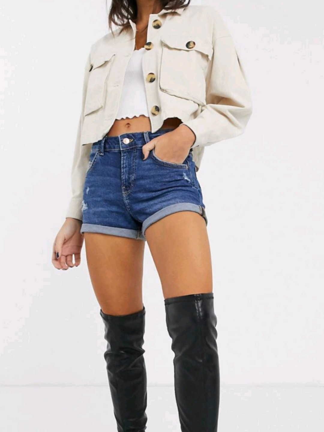 Damen shorts - BERSHKA photo 3