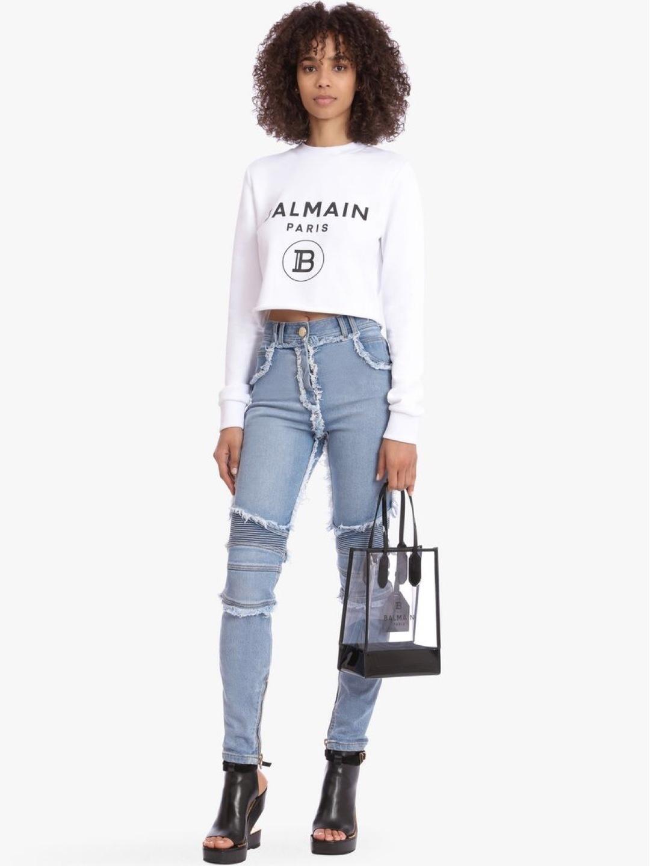 Damen kapuzenpullover & sweatshirts - BALMAIN photo 2