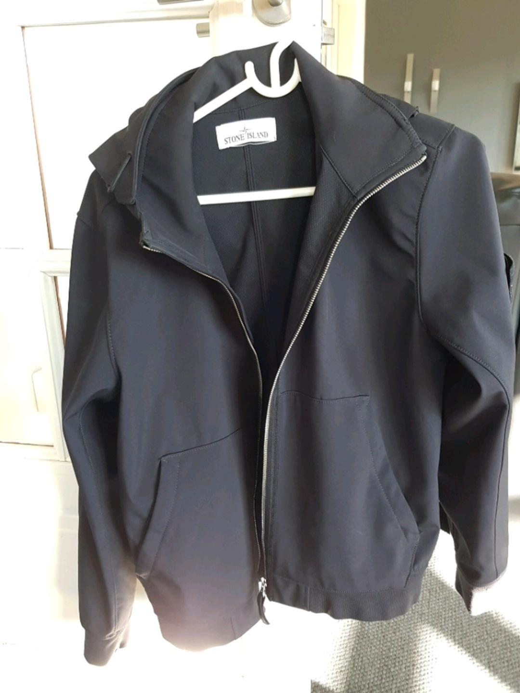 Damers frakker og jakker - STONE ISLAND SOFT SHELL JAKKE photo 1