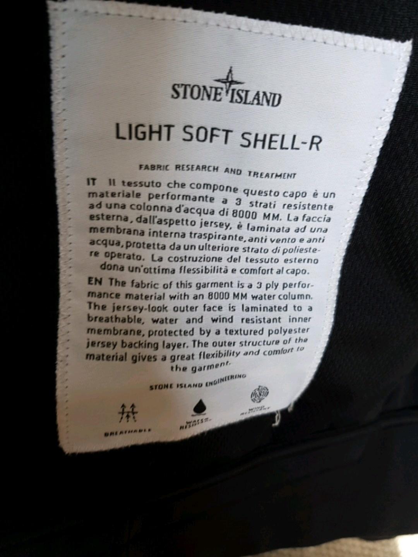 Damers frakker og jakker - STONE ISLAND SOFT SHELL JAKKE photo 4
