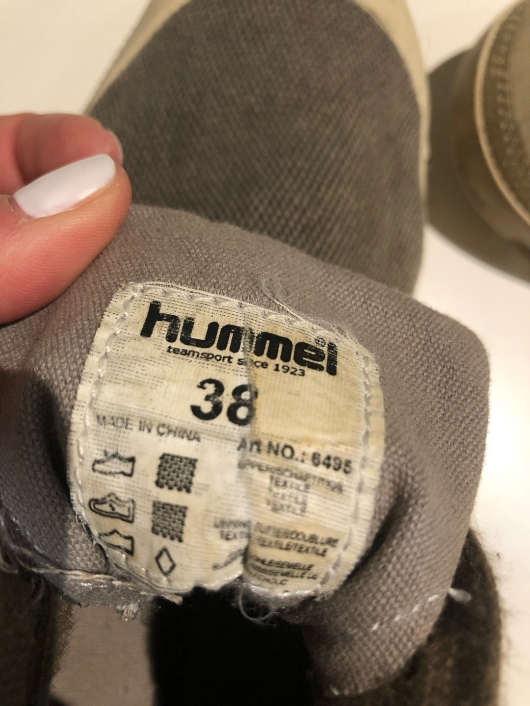 Damen flache schuhe - HUMMEL photo 4