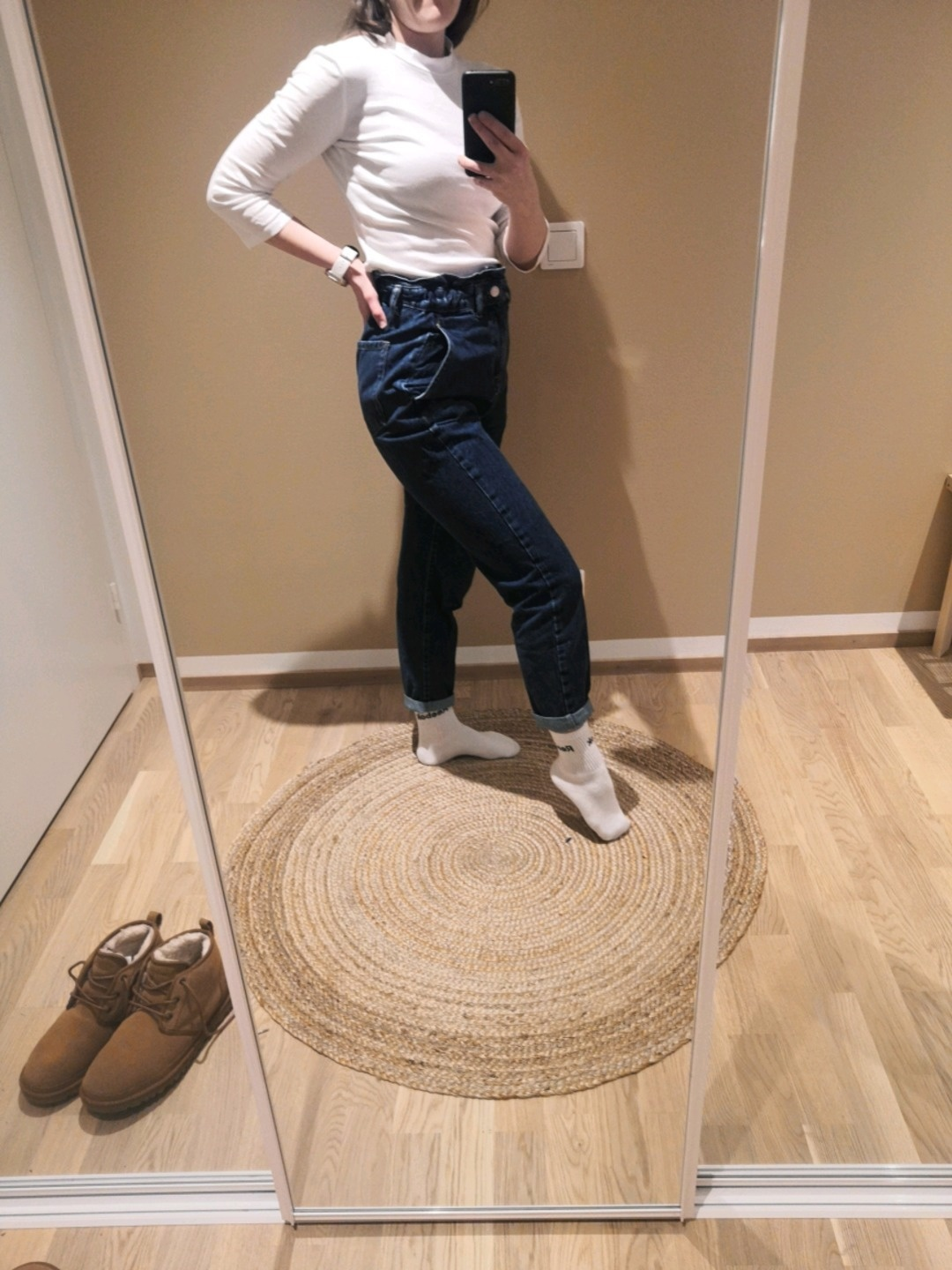 Damers bukser og jeans - ZARA photo 2