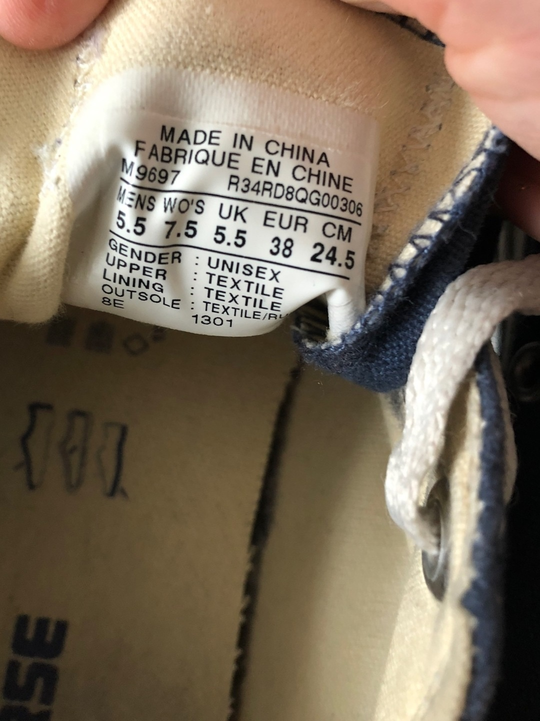 Damers sneakers - CONVERSE photo 3